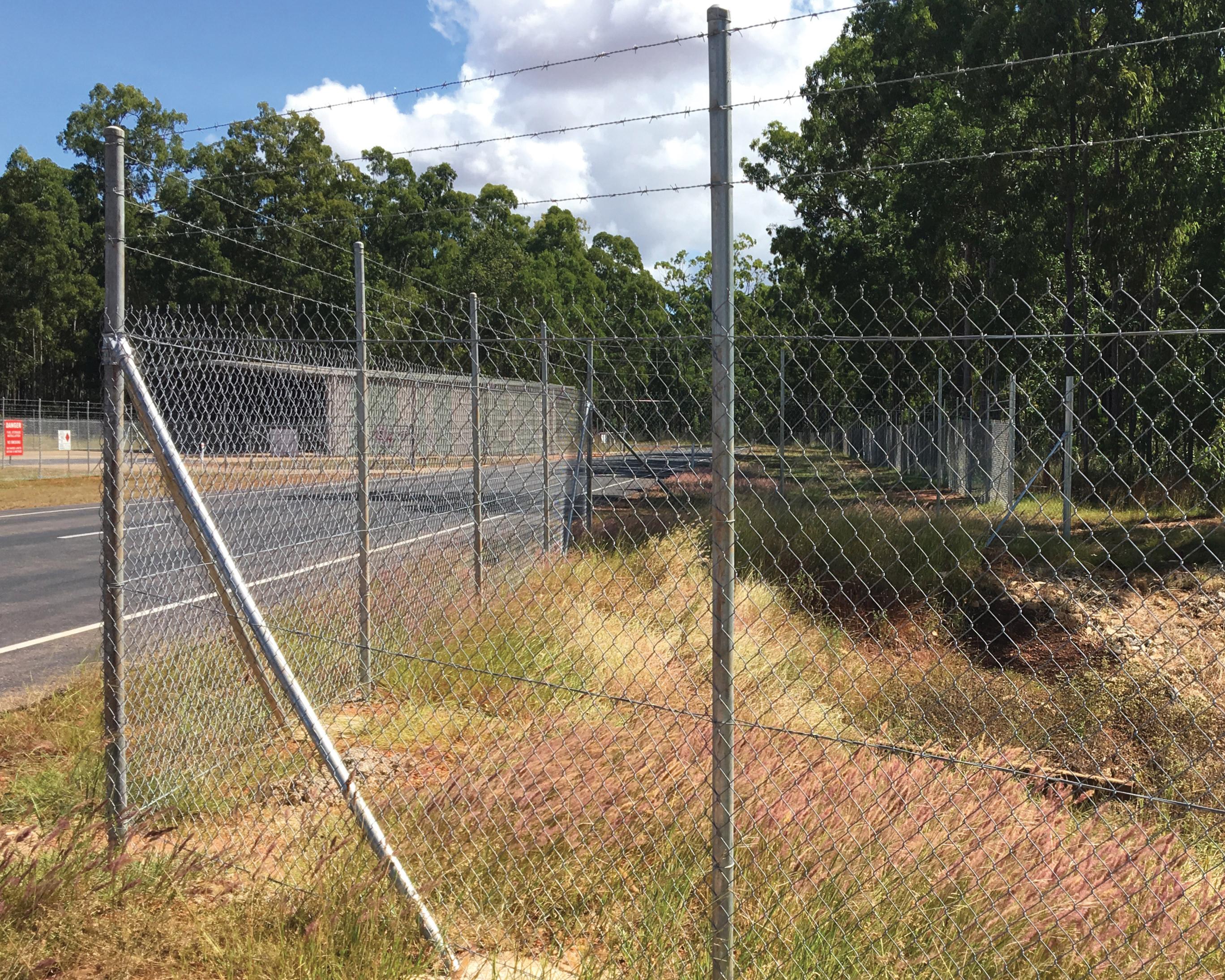 Jnc Group Perimeter Fencing Afp Facility